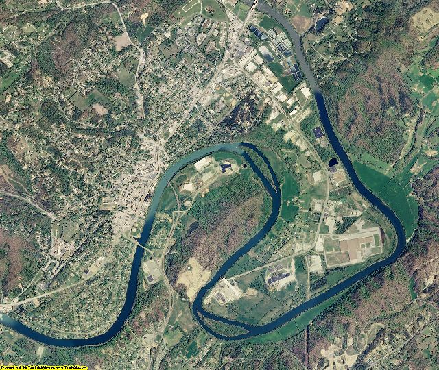 Anderson County, Tennessee aerial photography