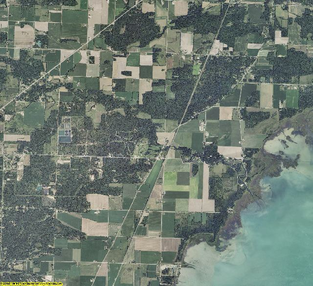 Arenac County, Michigan aerial photography