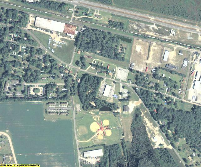 Atkinson County, GA aerial photography detail