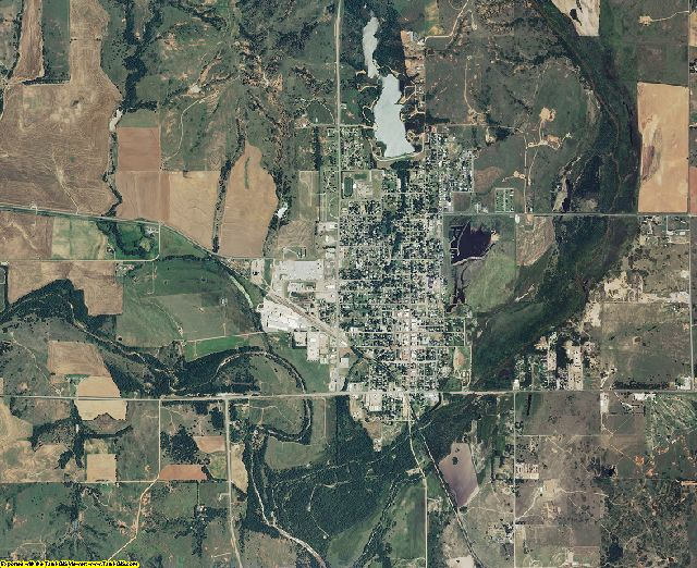 Barber County, Kansas aerial photography