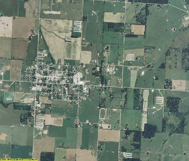 Barry County, Missouri aerial photography
