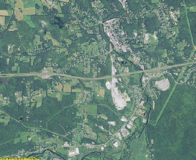Berkshire County, Massachusetts aerial photography