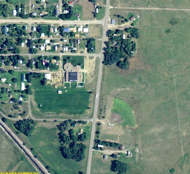 Blaine County, NE aerial photography detail