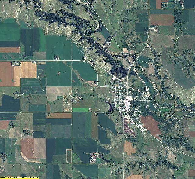 Boyd County, Nebraska aerial photography