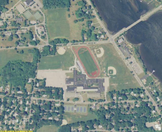 Bristol County, RI aerial photography detail