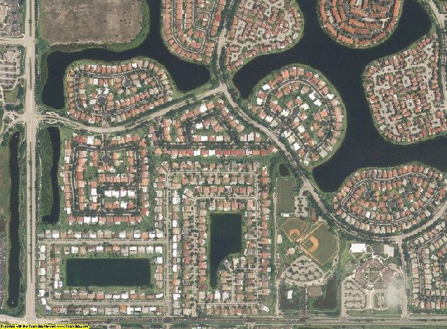 Broward County, FL aerial photography detail