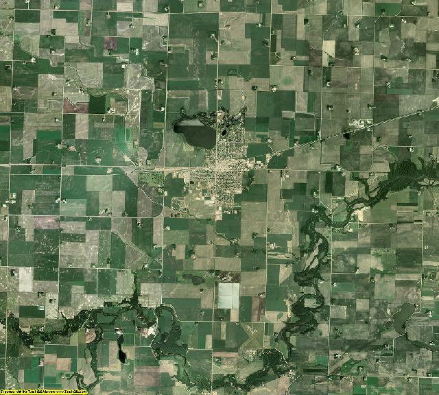 Brown County, Minnesota aerial photography