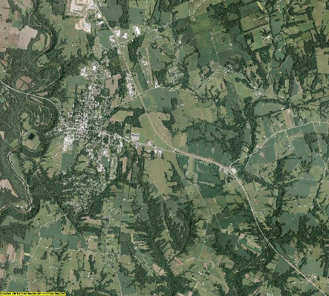 Brown County, Ohio aerial photography