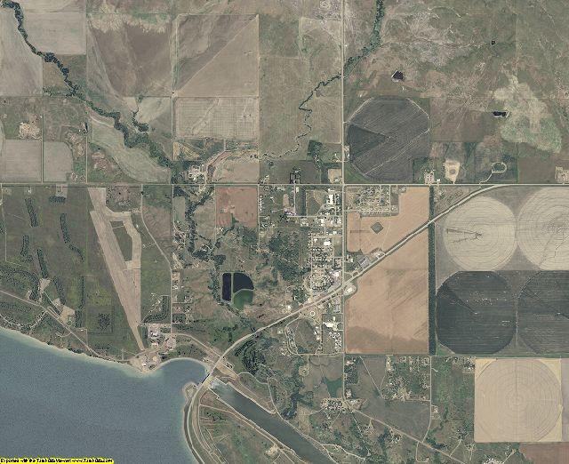 Buffalo County, South Dakota aerial photography