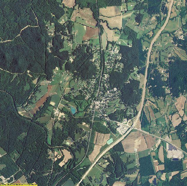 Bullitt County, Kentucky aerial photography