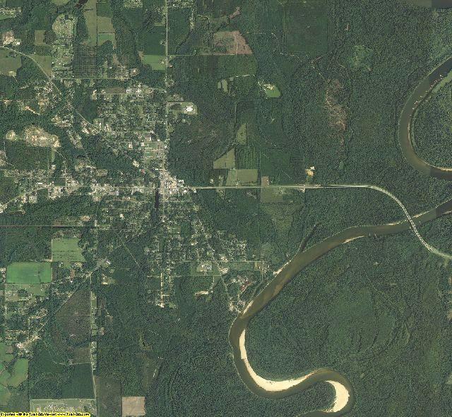Calhoun County, Florida aerial photography