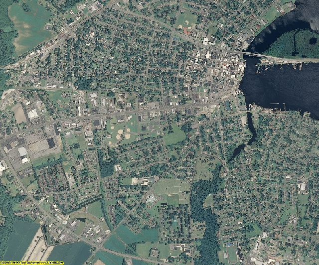Camden County, North Carolina aerial photography