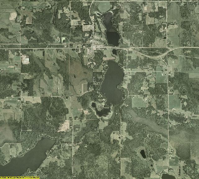 Carlton County, Minnesota aerial photography
