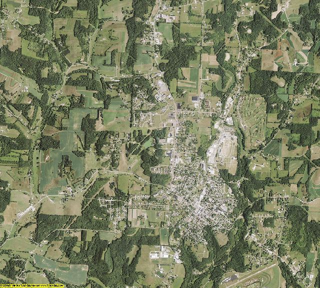 Carroll County, Ohio aerial photography