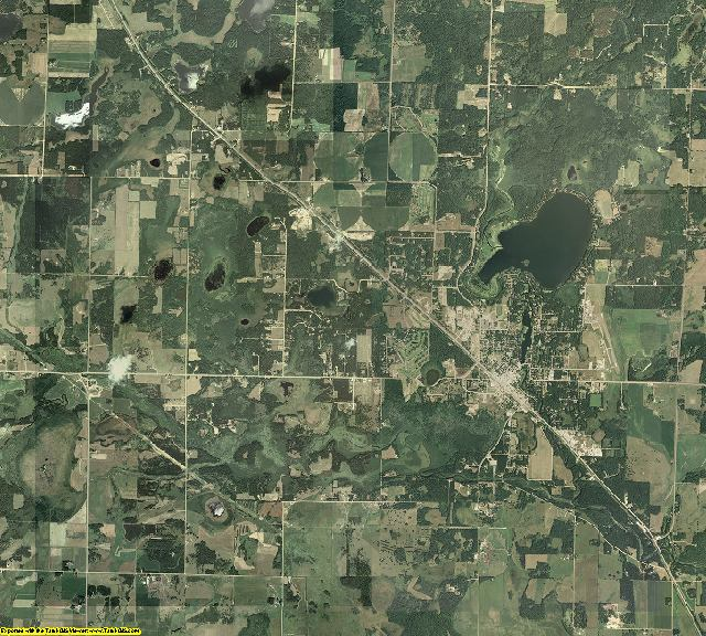 Cass County, Minnesota aerial photography