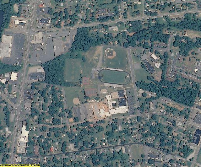 Catawba County, NC aerial photography detail