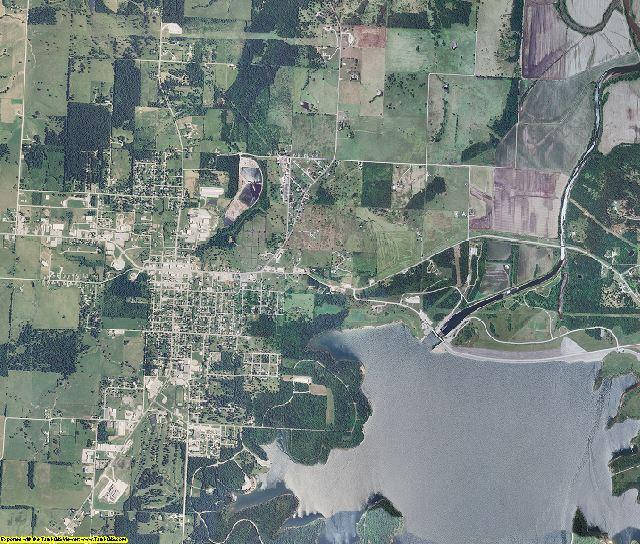 Cedar County, Missouri aerial photography