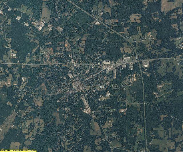 Chatham County, North Carolina aerial photography