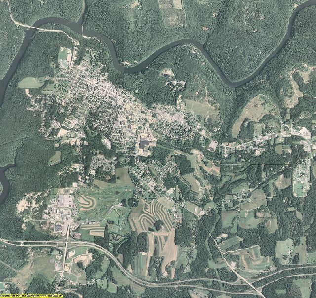 Clarion County, Pennsylvania aerial photography