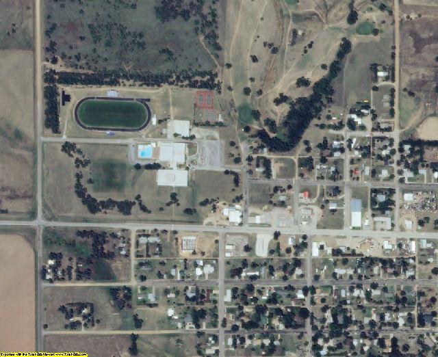 Clark County, KS aerial photography detail