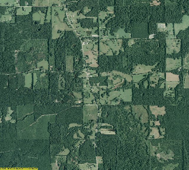 Cleveland County, Arkansas aerial photography
