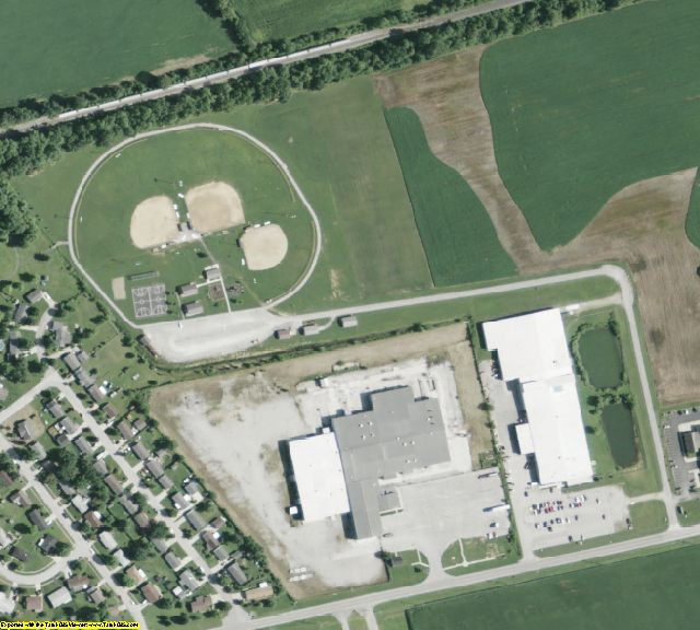 Clinton County, OH aerial photography detail