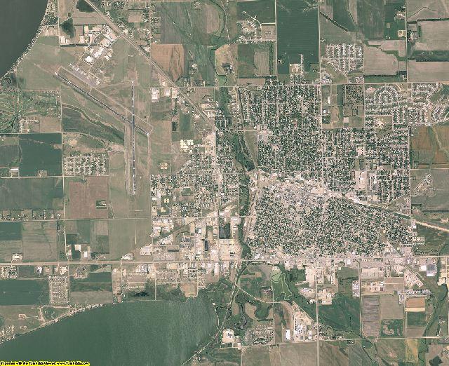 Codington County, South Dakota aerial photography