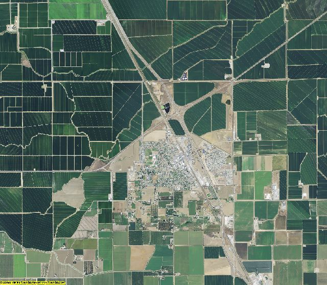 Colusa County, California aerial photography