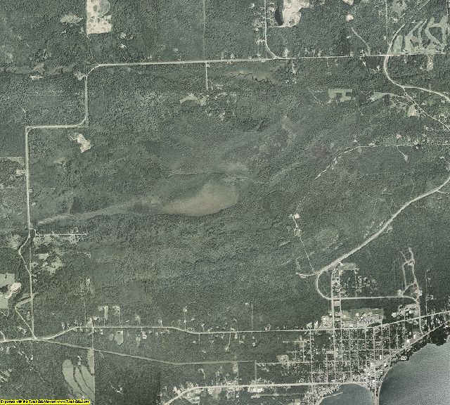 Cook County, Minnesota aerial photography