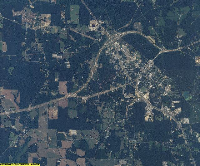 Covington County, Mississippi aerial photography