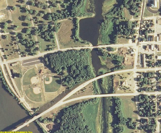 Crawford County, WI aerial photography detail