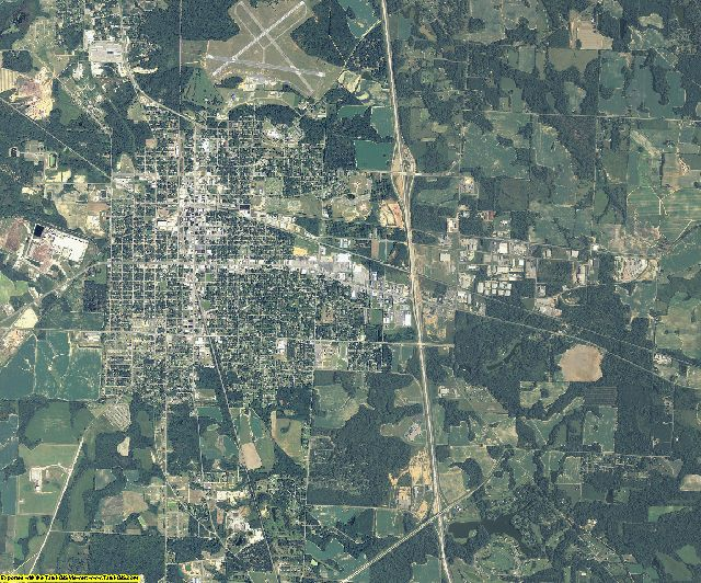 Crisp County, Georgia aerial photography