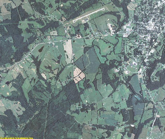 Crittenden County, Kentucky aerial photography