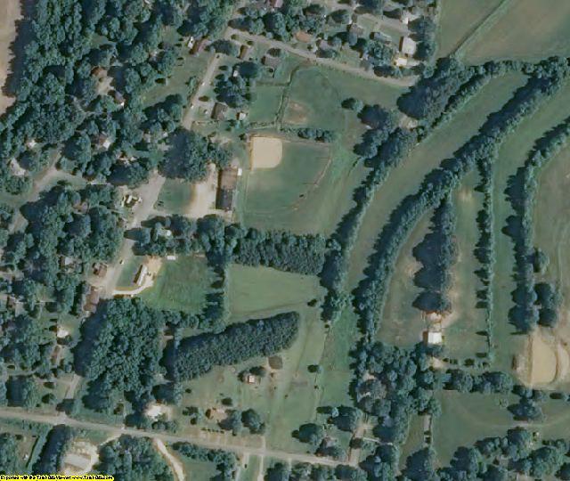 Crockett County, TN aerial photography detail