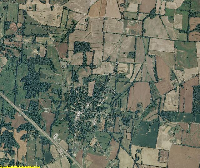 Crockett County, Tennessee aerial photography