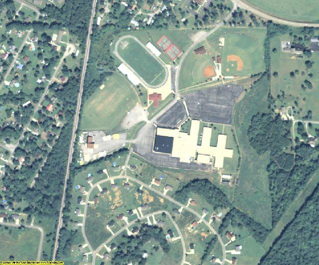 Dade County, GA aerial photography detail