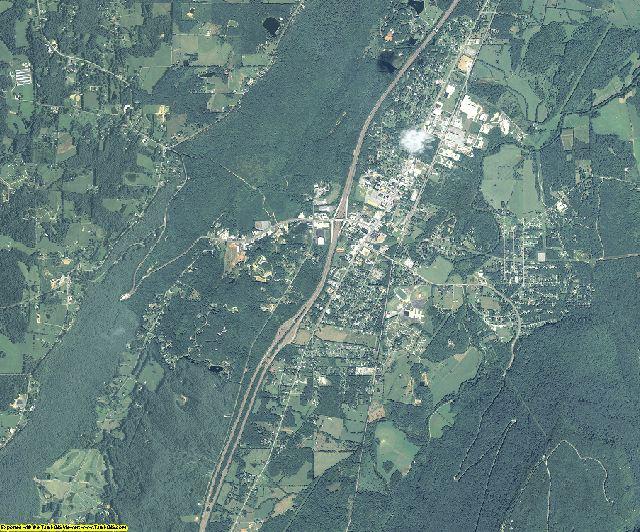 Dade County, Georgia aerial photography