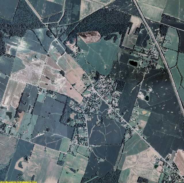 Daviess County, Kentucky aerial photography