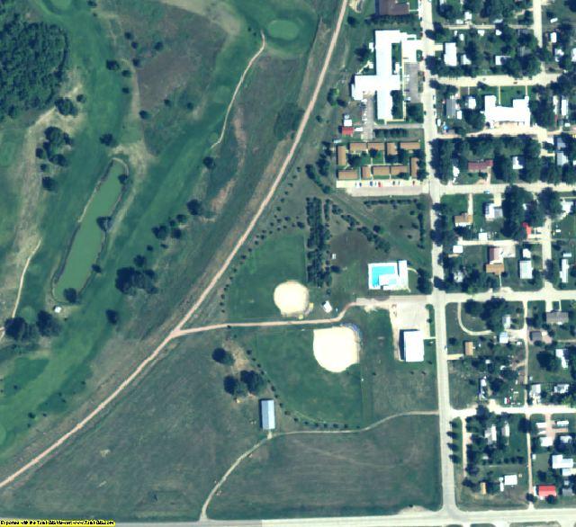 Dawes County, NE aerial photography detail