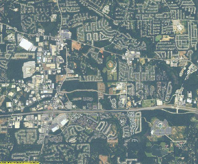 DeKalb County, Georgia aerial photography
