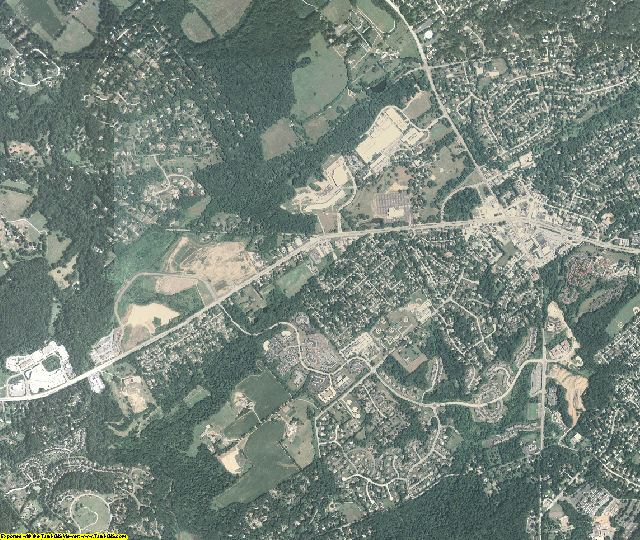 Delaware County, Pennsylvania aerial photography