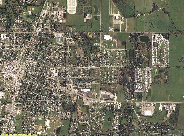 DeSoto County, Florida aerial photography