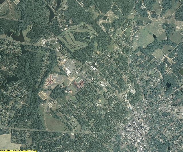 Dodge County, Georgia aerial photography
