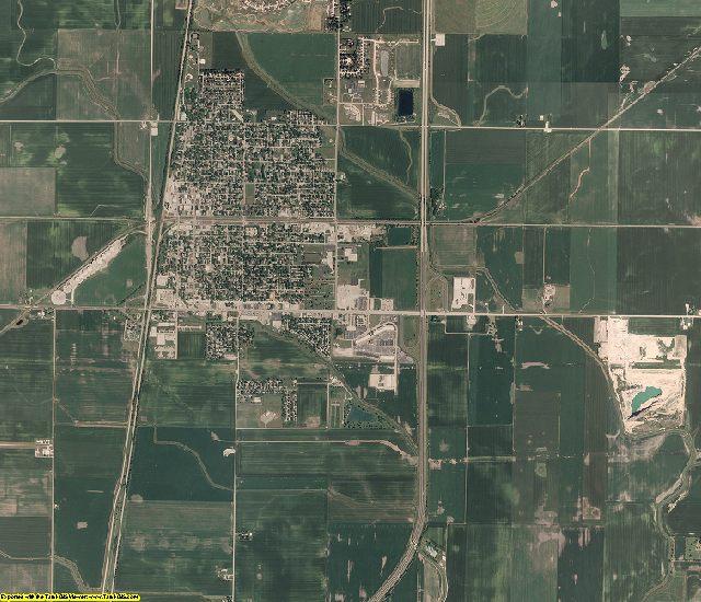 Douglas County, Illinois aerial photography