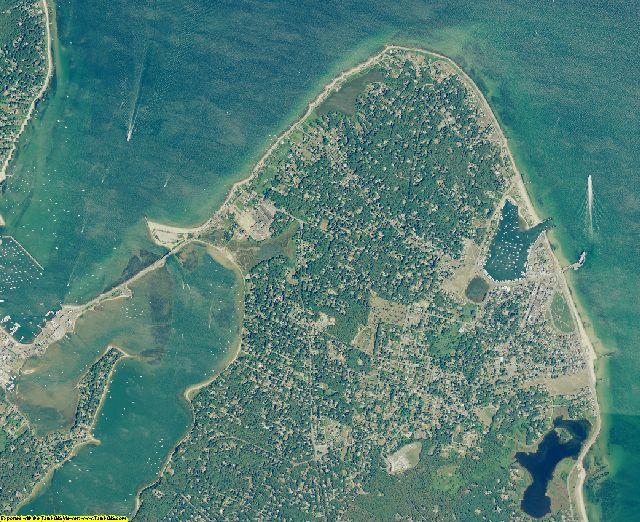 Dukes County, Massachusetts aerial photography