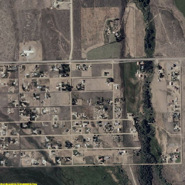 Elko County, NV aerial photography detail