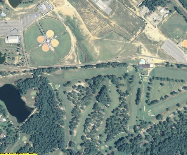 Emanuel County, GA aerial photography detail