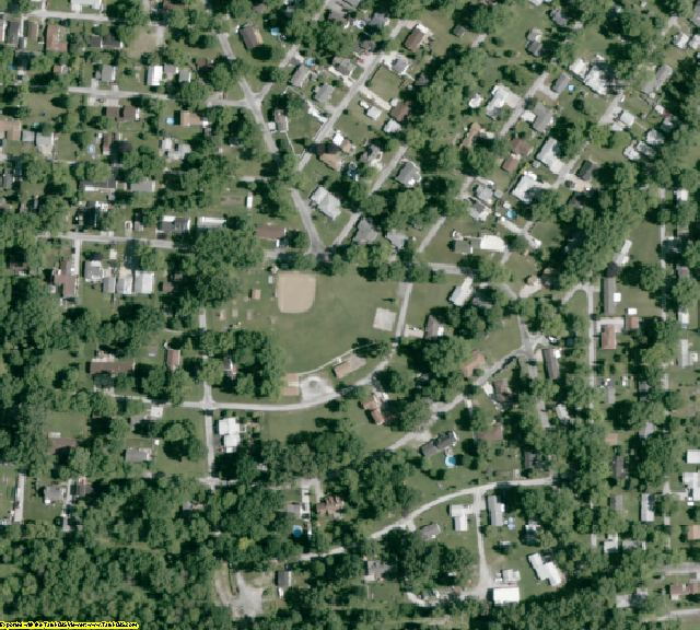 Erie County, OH aerial photography detail