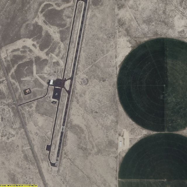 Eureka County, NV aerial photography detail