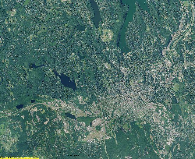 Fairfield County, Connecticut aerial photography